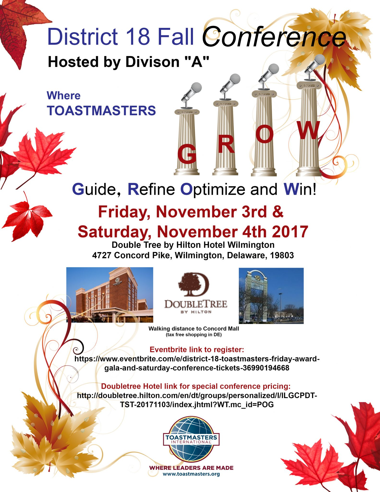 TM Conference Flyer with eventbrite link
